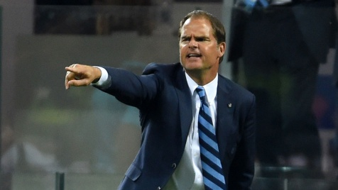 "De Boer: ""All'Inter mentalità vincente"""