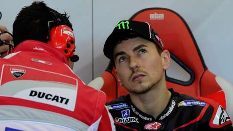 Lorenzo in Ducati