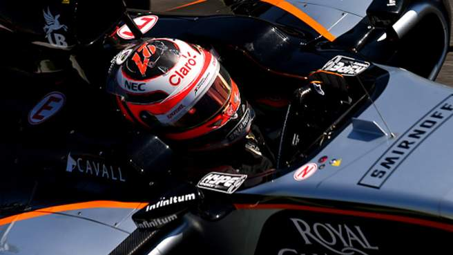Furto al box della Force India
