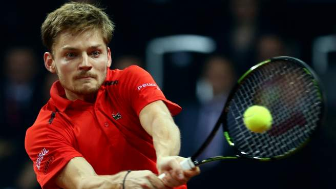 Goffin trema e vince, Murray domina