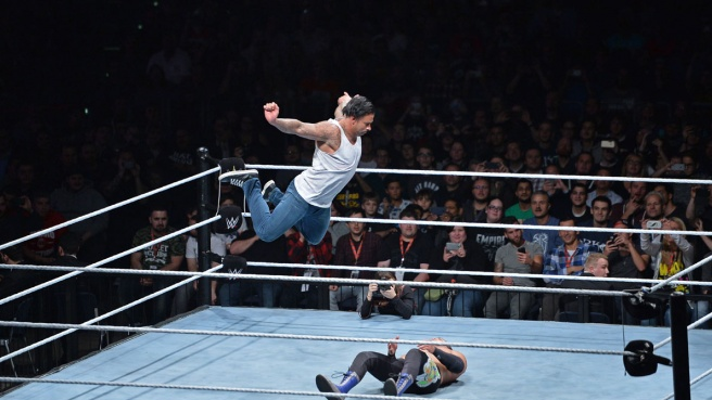 Wiese, debutto vincente in WWE