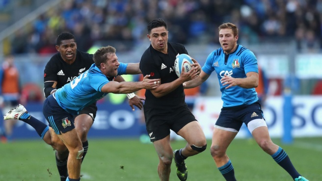 All Blacks-Italia: 10 mete a una