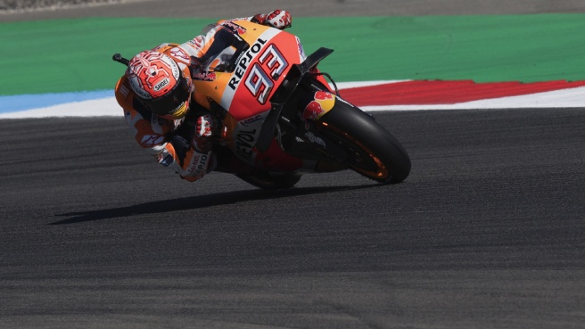 Pole di Marquez in Austria, male Rossi