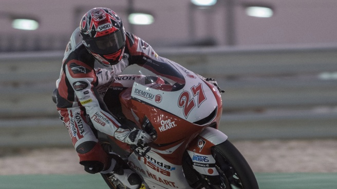 Moto3 Qatar, Canet va in pole position
