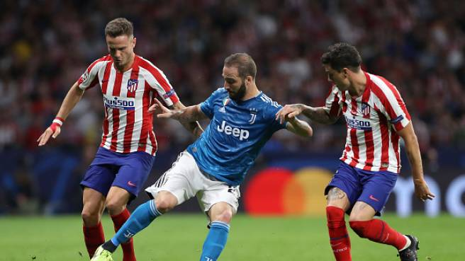 Le foto di Atletico Madrid-Juventus - Champions League 2019/2020