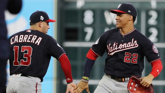 MLB World Series, Nationals sul 2-0