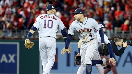 World Series, gli Astros si portano a casa gara 5