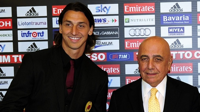 ibrahimovic, galliani